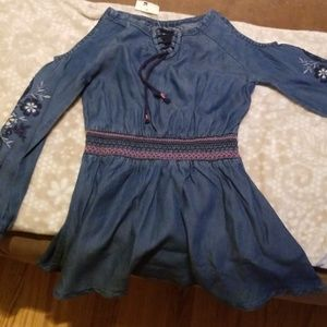 Adorable Little Jean dress